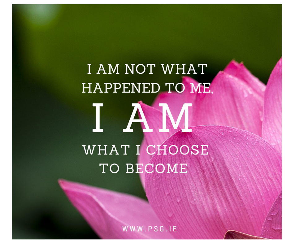 I am not what happened to me,