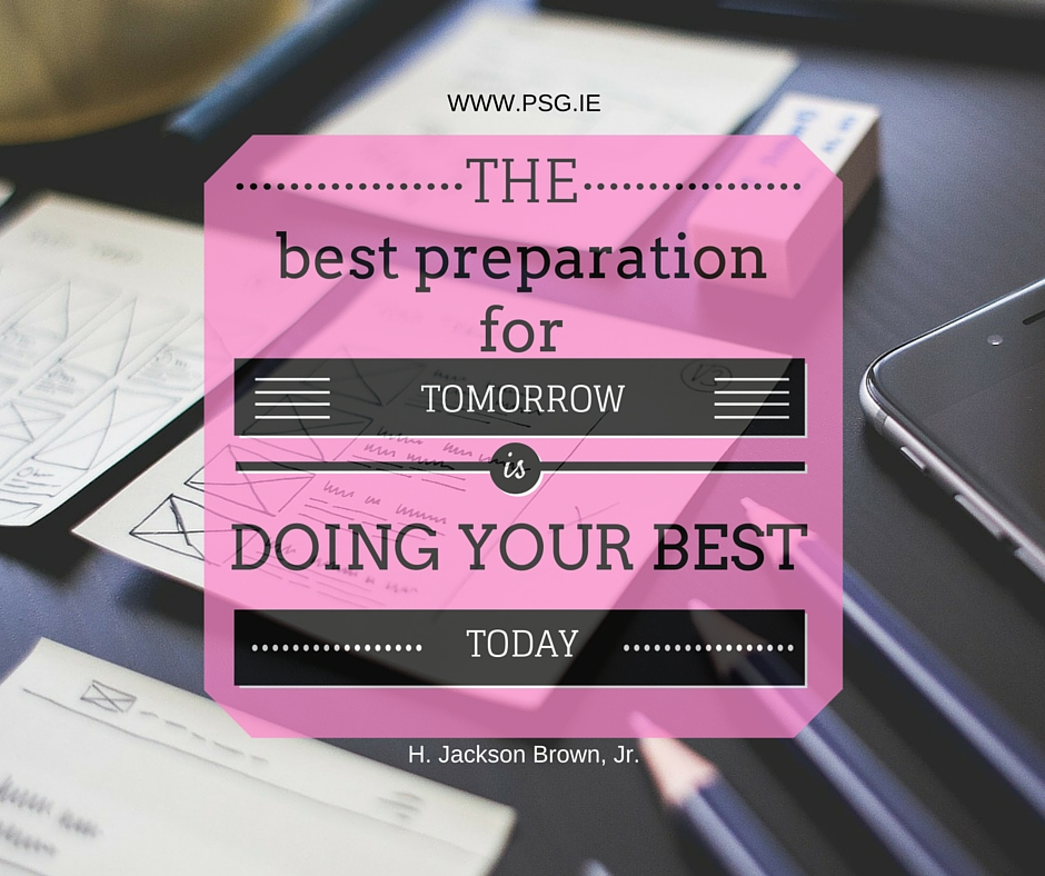 DO your best today