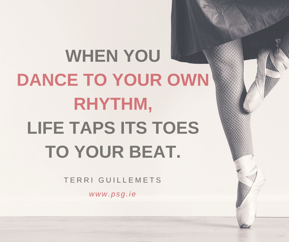 "Life Coaching Quotes Classy 7 Quotes To Inspire You To ""dance To Your Own Rhythm""  Executive"